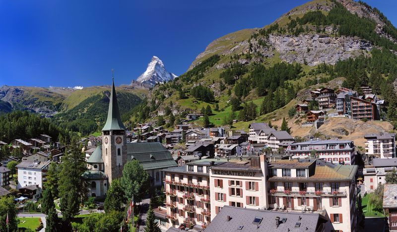 zermatt cities whitout car