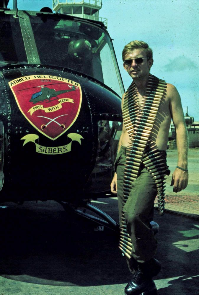 armend helicopter vietnam war decorated helicopters