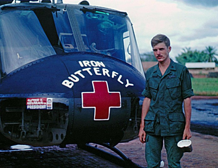 red cross vietnam war decorated helicopters